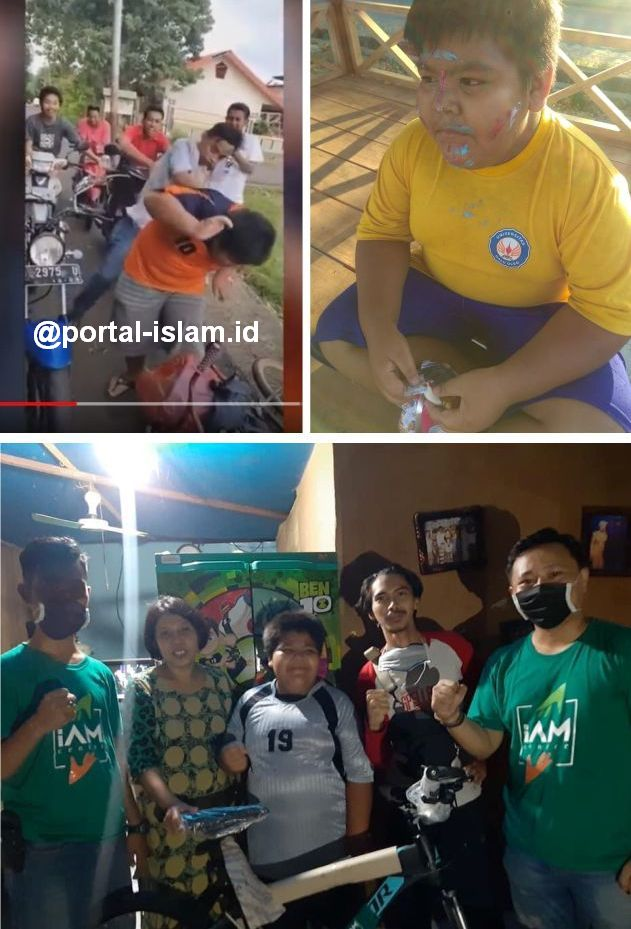 Rizal, Bocah Penjual Jalangkote Korban Bully, Akhirnya Dapat Hadiah Sepeda Baru Dari Relawan