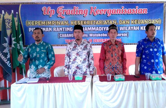 Asah Skill Organisasi, Up-Grading Wilayah Kerja IV Cabang Muhammadiyah Jember