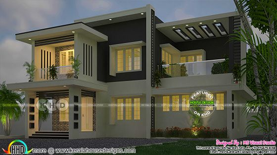 2210 square feet, 4 bedroom contemporary residence