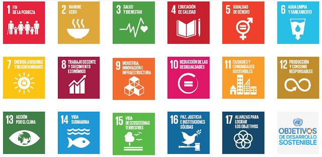 Figura 5: Objetivos para el Desarrollo Sostenible (ODS).