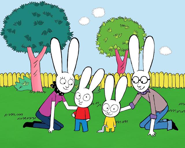 C'è Simone, il cartone animato ed i libri per bambini
