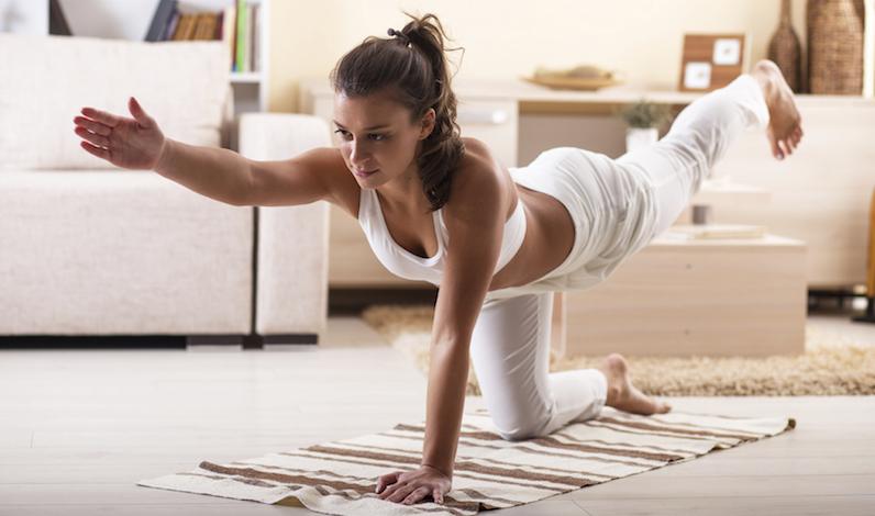 El yoga también será tu aliado