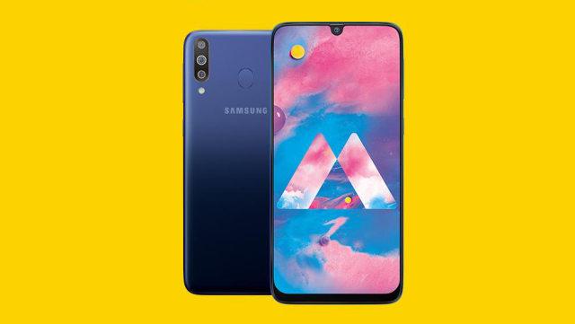 Layar Samsung Galaxy M30