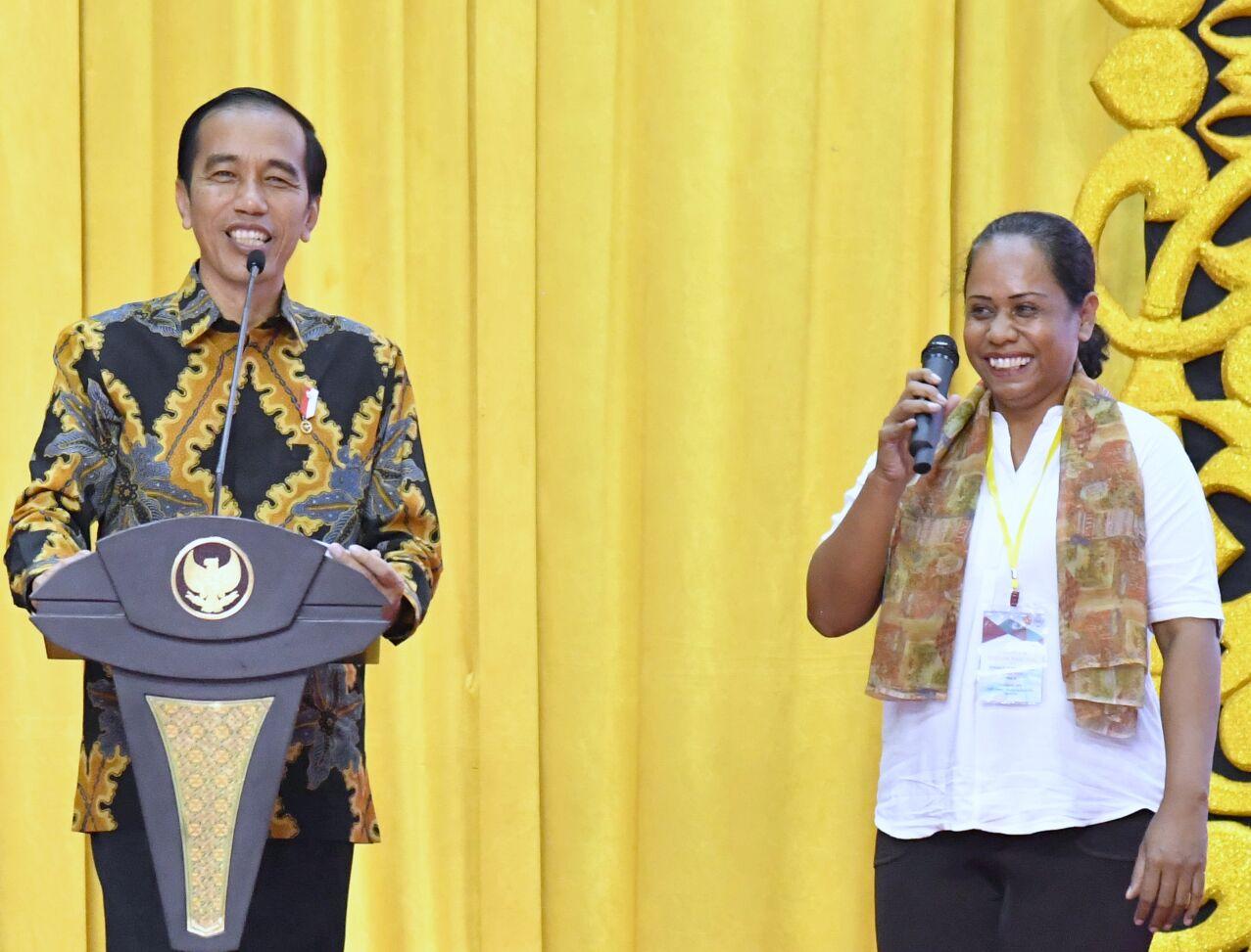 Presiden Jokowi Tegaskan Infrastruktur Salah Satu Alat Pemersatu Bangsa Info Seputar Presiden