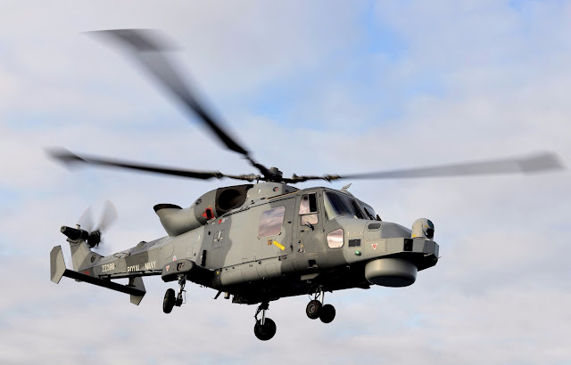 The AgustaWestland AW159 Wildcat