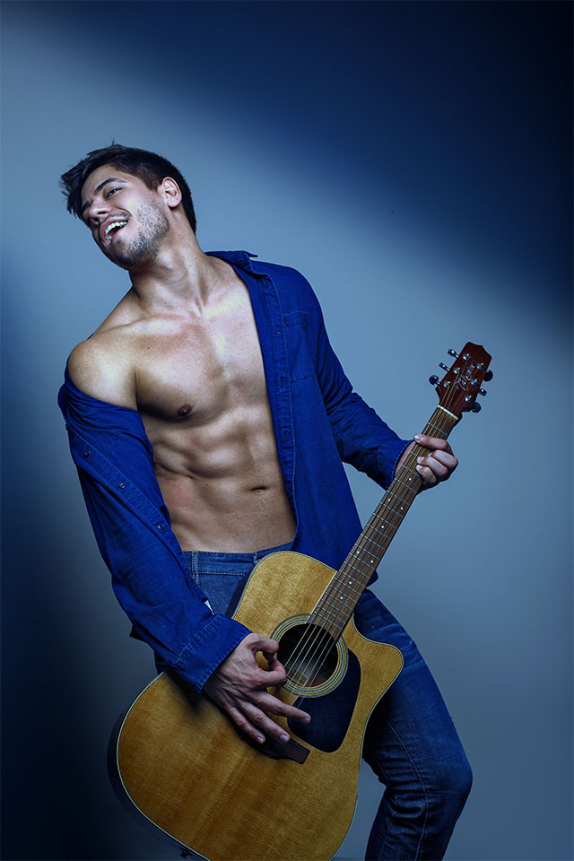 Andrio Frazon, o Mister do Sertanejo. Foto: Ronaldo Gutierrez