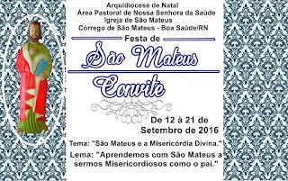 Festa de São Mateus 2016