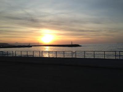 sunset, crete, greece, beach, sea, ocean