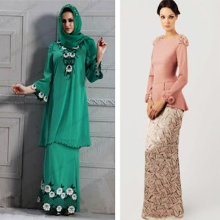 model baju kurung kain batik