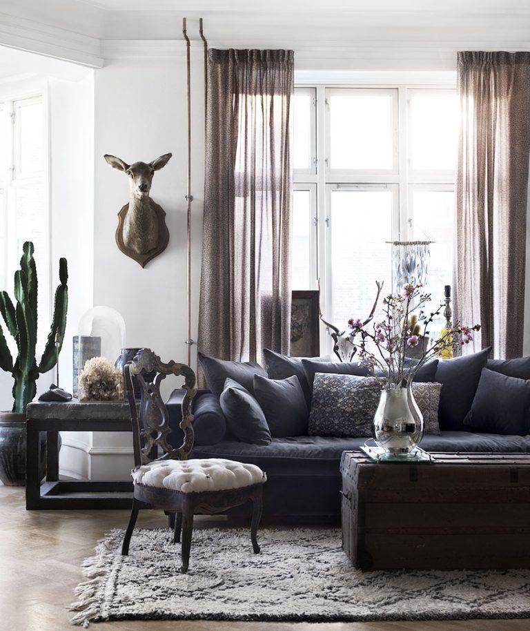 decordemon: Maria Toft's bohemian apartment in Copenhagen