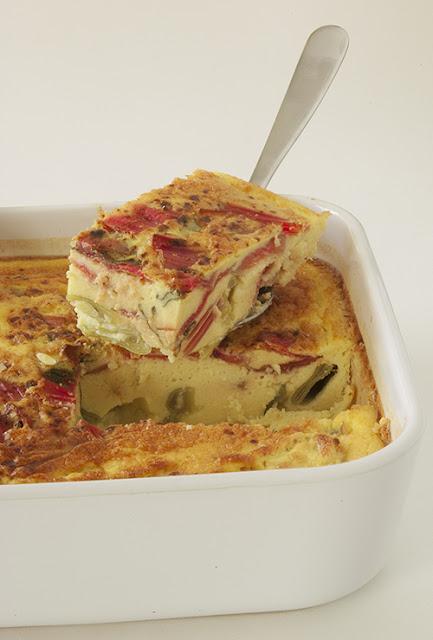 Recette Clafoutis au lait d'amande et aux légumes