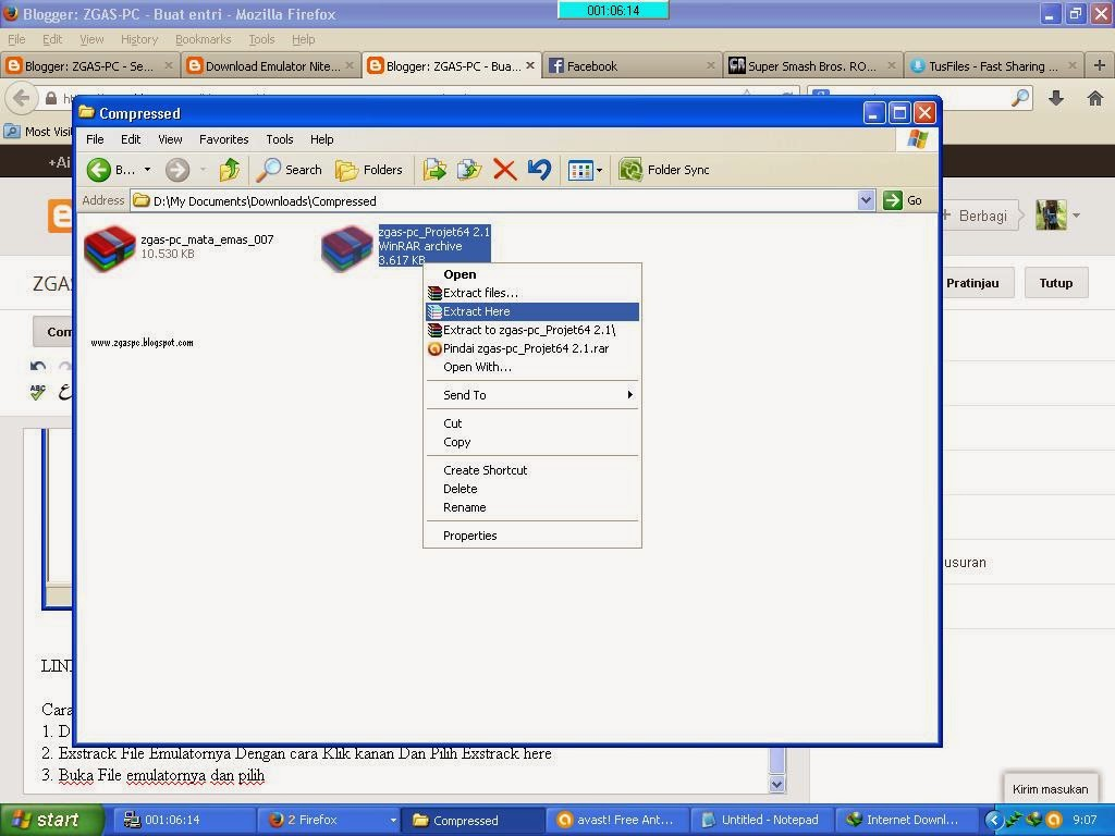 Free Download Project64 2.1.0.1 Emulator Nitendo64 For PC ...