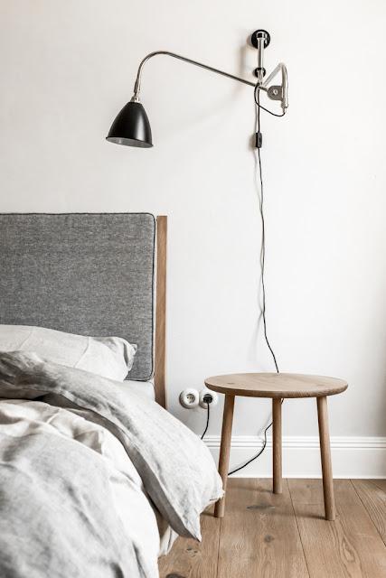 minimalisticka loznice