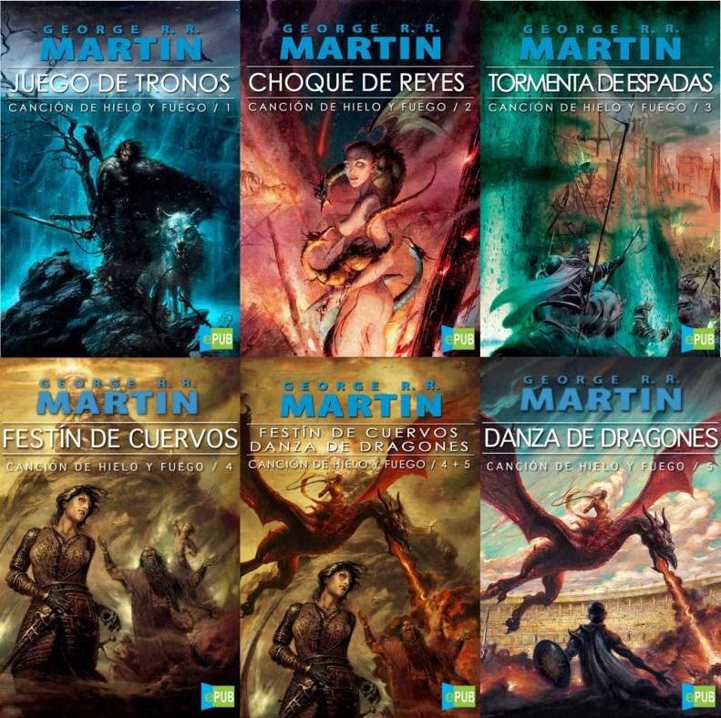 Colección de Libros: Canción de hielo y fuego – George R. R. Martin