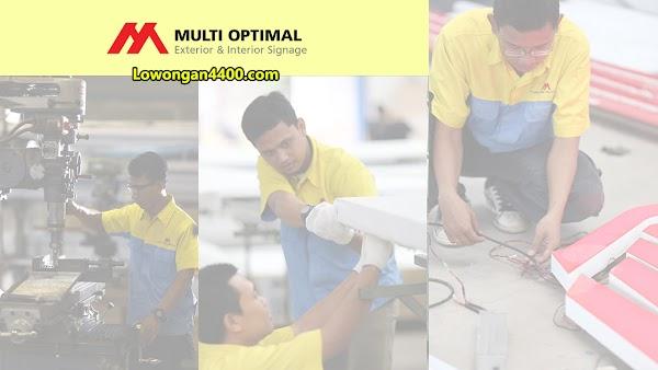 Lowongan Kerja PT. Multi Optimal Roda Internusa