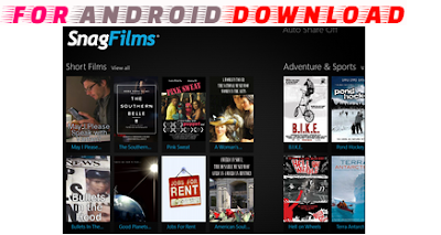Download Android SnagFilms Apk - Watch Movies on Android