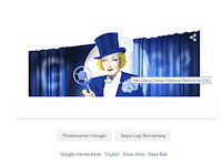 Doodle Google, Marlene Dietrich Hari ini Ulang Tahun