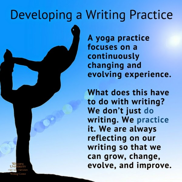 Developing a writing practice