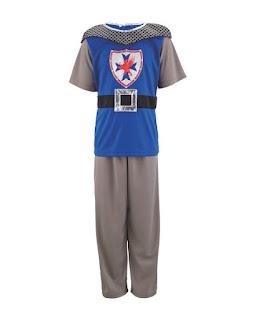 Childs knight costume