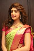pranitha glam pics in saree-thumbnail-7