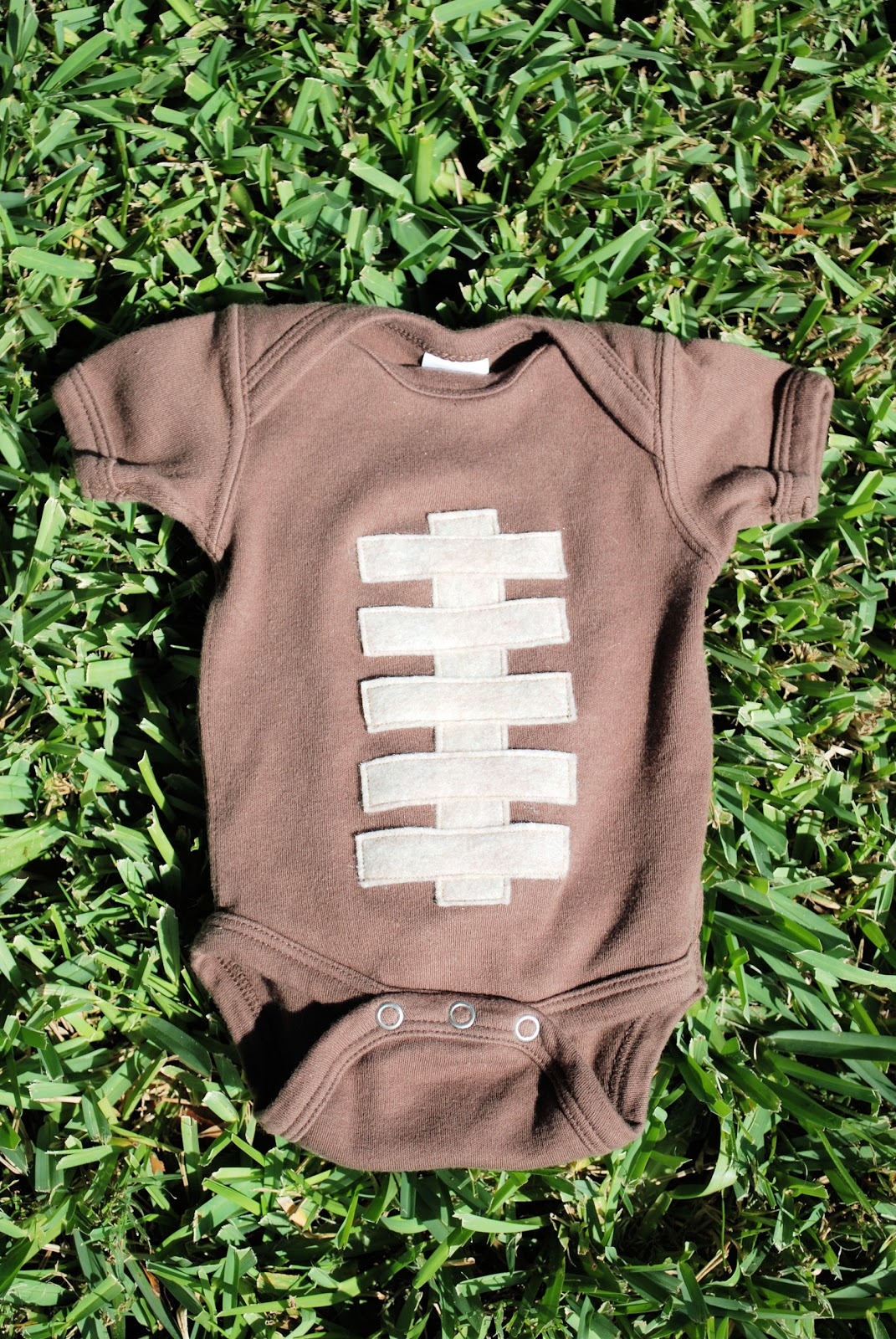 171f3e09f Love Bug Living: Baby Football Onesie