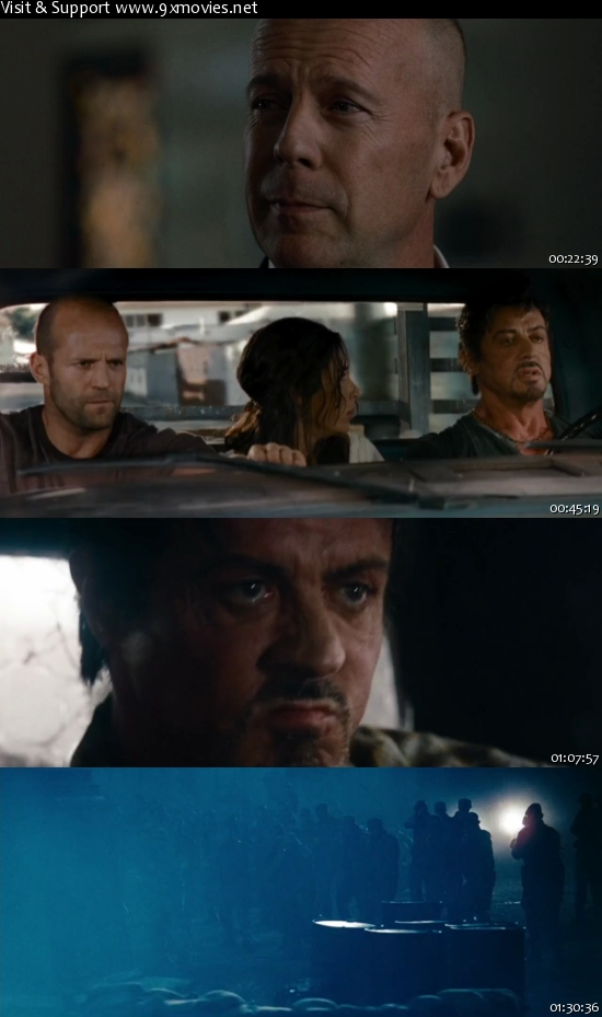 The Expendables 2010 Extended Director Cut Dual Audio Hindi 720p BluRay