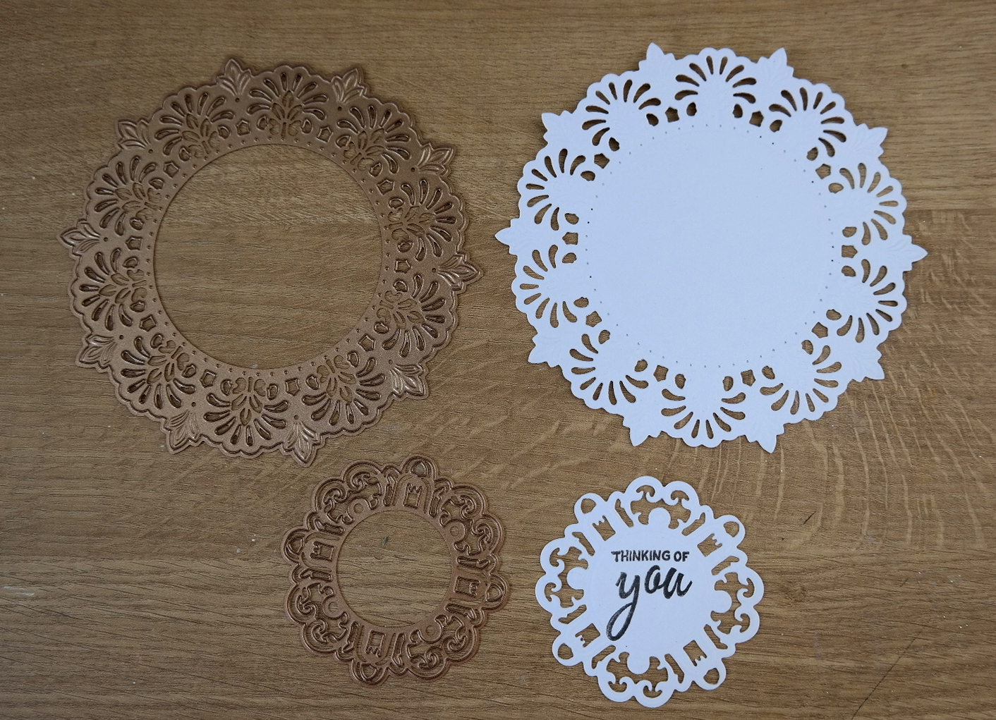 Tuesday Tutorial - Ornamental Doily | Flowers, Ribbons and