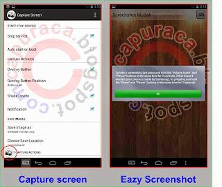 Cara screenshot layar handphone android