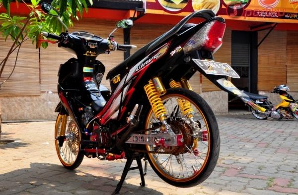Motor Supra Oye Keren Modifikasi Motor Supra X 125