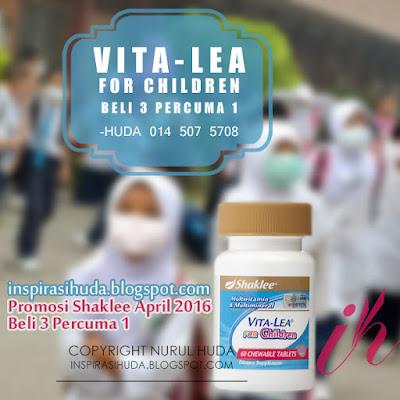ptomosi, shaklee, vitalea for children, vitalea, suplemen, produk