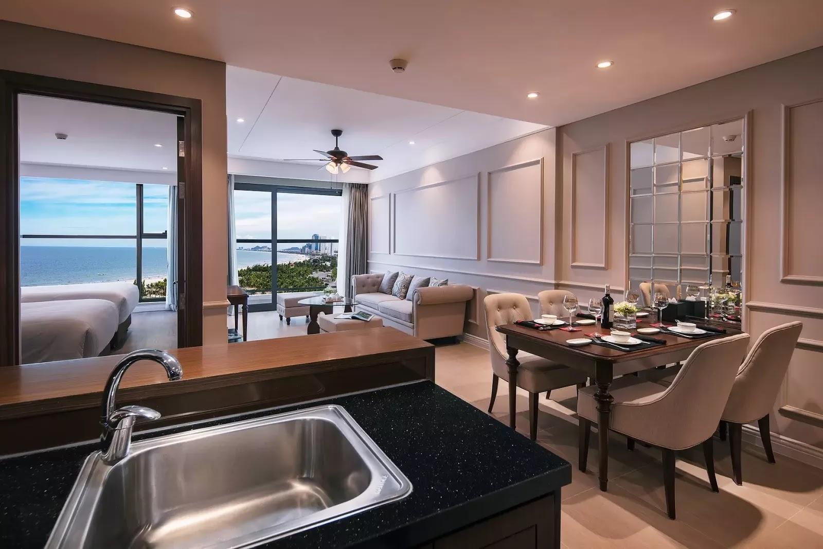 Hình ảnh căn hộ thực tế khi hoàn thiện của Luxury Apartment