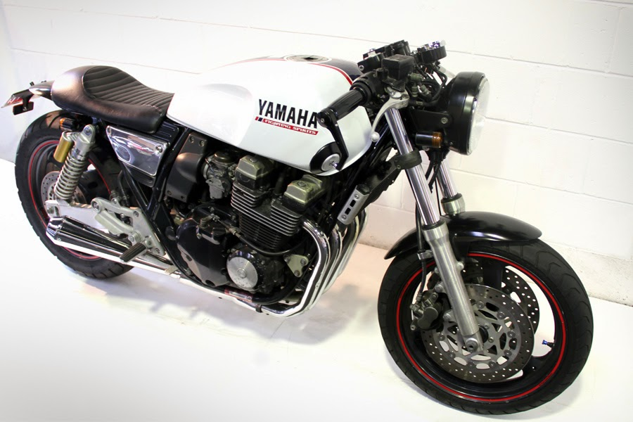 yamaha xjr400 cafe racer - grease n gas