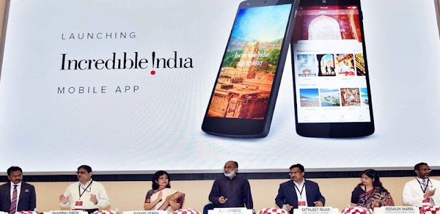 Tourism Minister presents the National Tourism Awards, 2016-17; Launches Incredible India mobile App