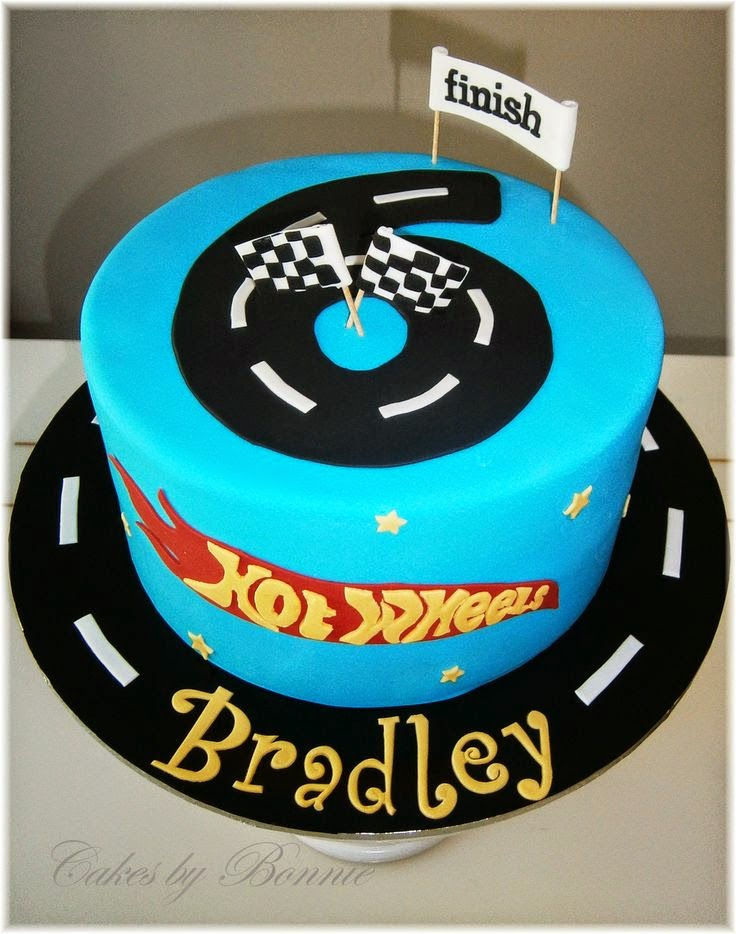Hot Wheels Racing League Hot Wheels Birthday Party Cakes