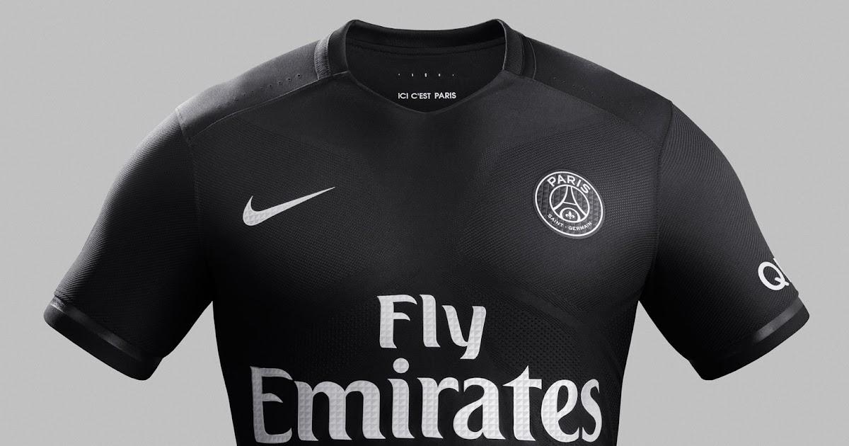 sports shoes 6ef68 b70f6 Paris Saint-Germain 15-16 Kits Revealed - Footy Headlines