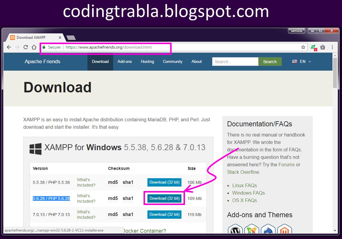 Codingtrabla install flarum v0 1 0 beta on windows 7 for Windows official website