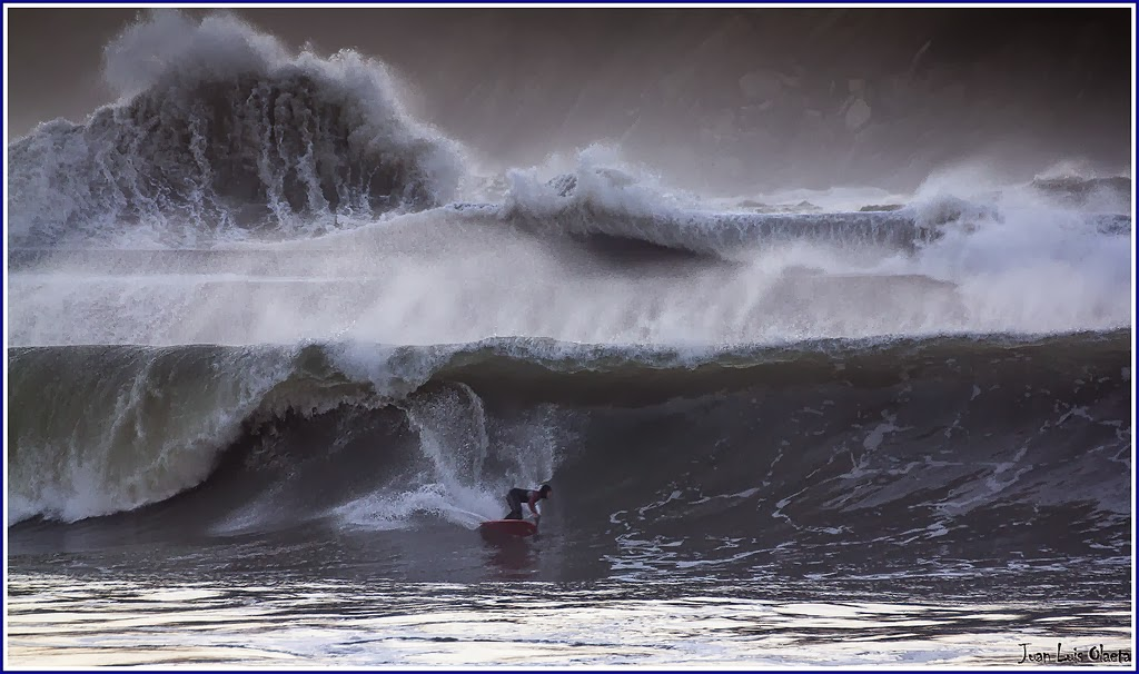 gorliz plentzia olas temporal