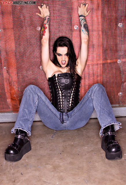 Shannon Spruill (Daffney) - Female Wrestling