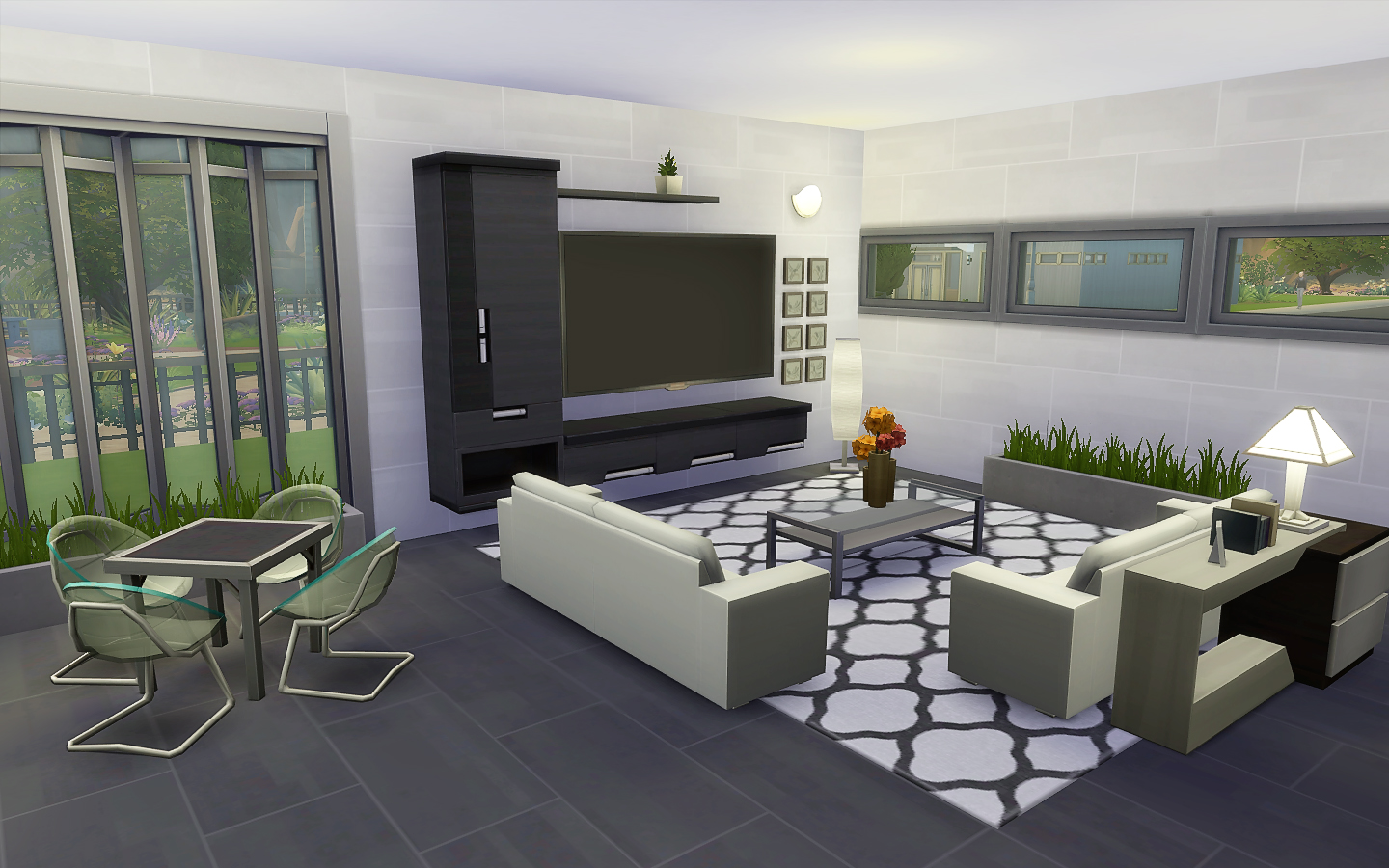 My sims 4 blog modern house no cc by viasims for Modern home blog