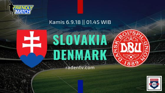 Streaming Slovakia vs Denmark