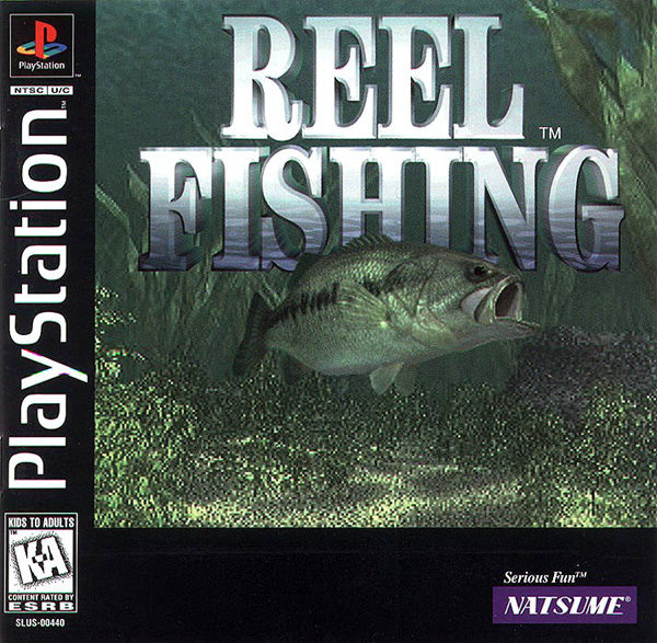 Reel Fishing - PS1 - ISOs Download
