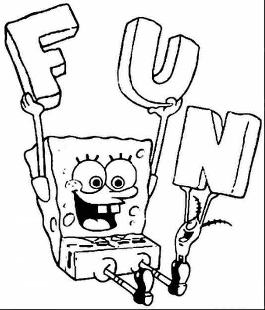 Fabulous Spongebob Coloring Pages With Spongebob Printable Coloring Pages  And Spongebob Printable Coloring Pages