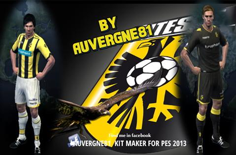 PES 2013 Vitesse Arnhem 2016 17 GDB Kits 7787966e9