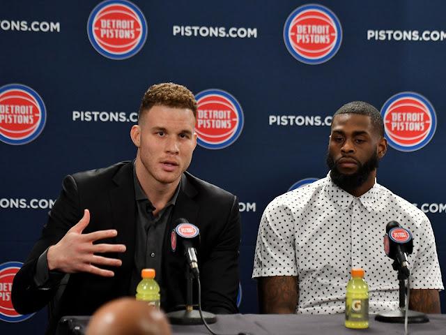 Blake Griffin, nouveau membre des Detroit Pistons | PistonsFR en France