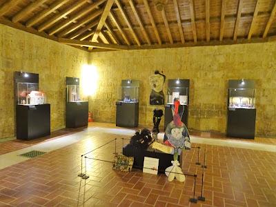 Interior del Castillo de los Sarmiento, Palencia