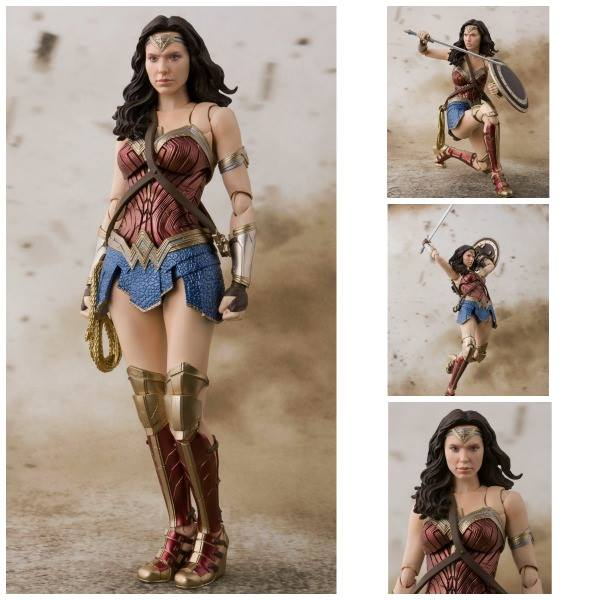 WONDER WOMAN JUSTICE LEAGUE FIGURA 15 CM JUSTICE LEAGUE MOVIE S.H. FIGUARTS