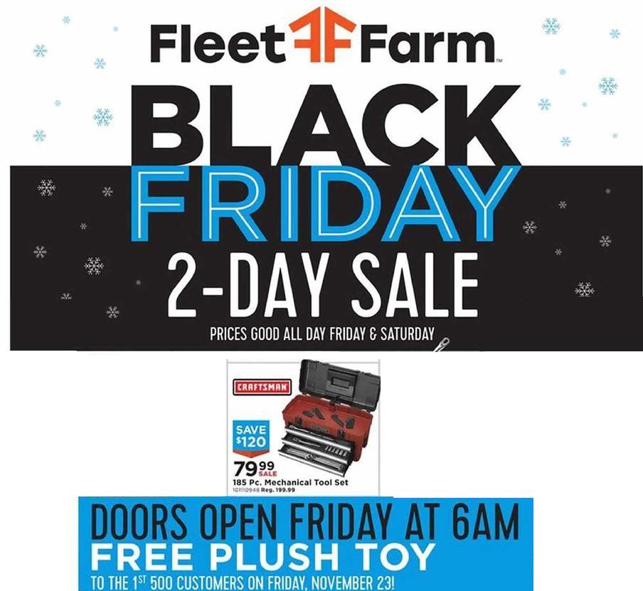 Farm Fleet Friday tools 2018 ad