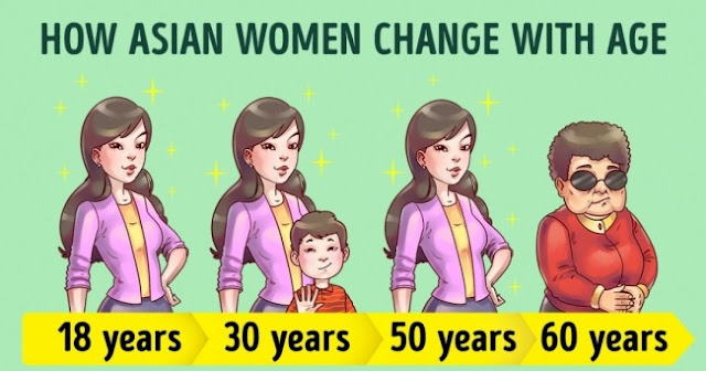12 Habits And Reasons That Why Asian Women Are Change With Age