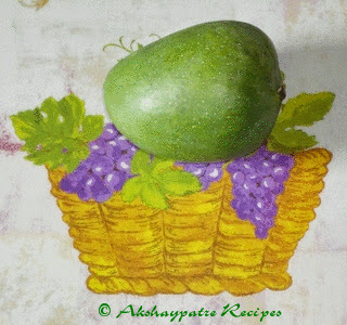 wash the mango