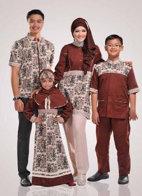 model baju batik muslim anak kreasi modern